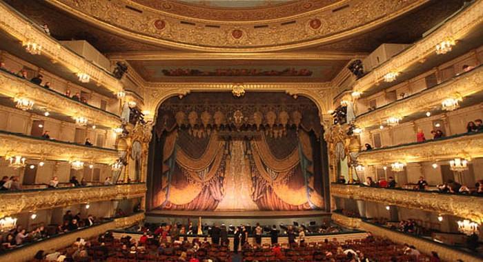 La salle du théâtre Mariinski