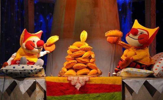 spectacle de marionettes au théâtre Bolchoï Teatr Kukol