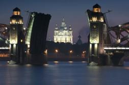 Ouverture du Pont de la Trinité sur Smolny