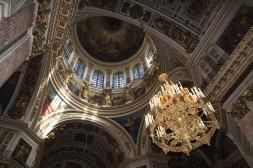 L'intérieur de la Cathédrale St Isaac