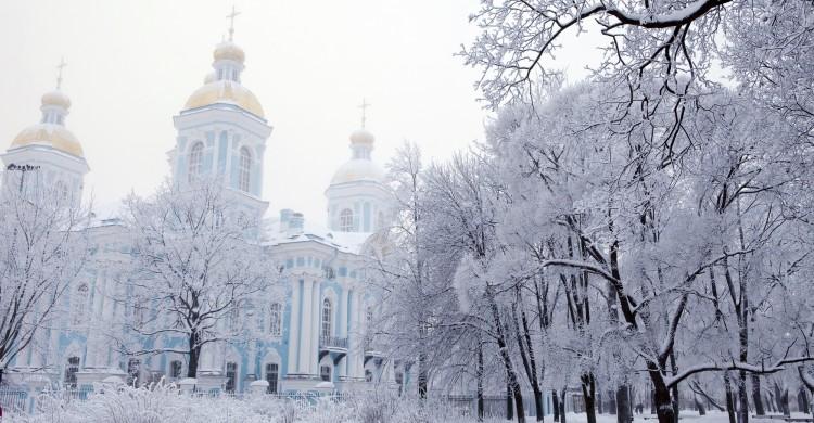 Nikolsky Sabor en hiver