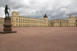 Place du Musée à Gatchina
