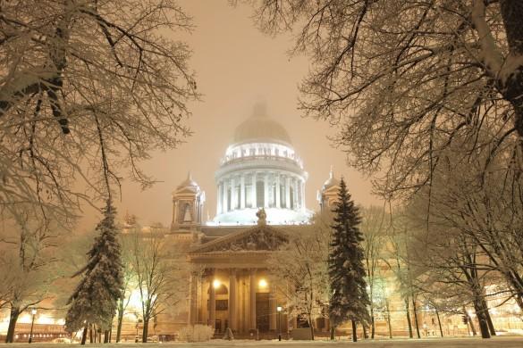 Saint Petersbourg en hiver