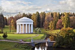 Pavillon dans les Jardins de Pavlosk