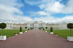 Entrée du Palais de Catherine à Tsarkoïe Selo