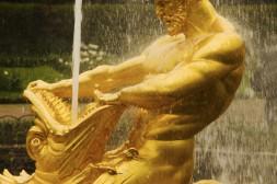 Sculpture des Fontaines de Péterhof