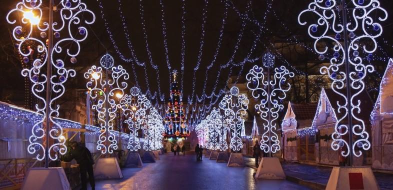 Noël à saint petersbourg
