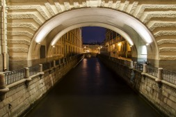 Le Canal traversant l'Ermitage