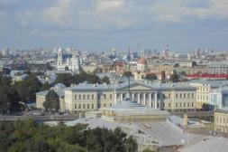 Vue depuis la Forteresse Pierre et Paul sur l'église Vladimir