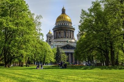 Escapade à Saint-Pétersbourg en été