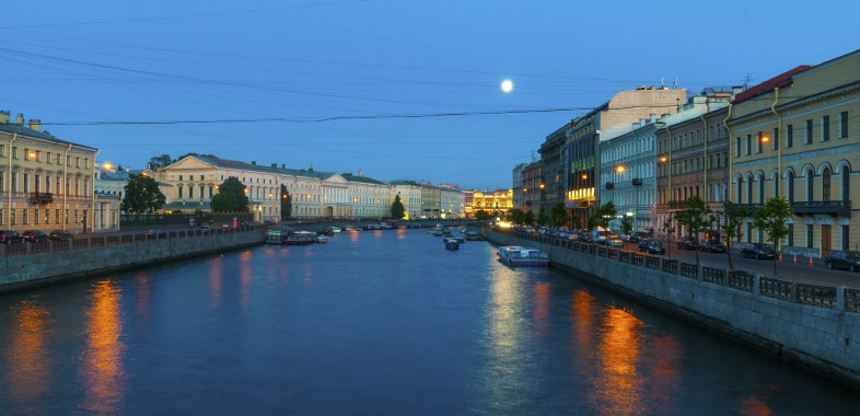 canal saint petersbourg nuit blanche