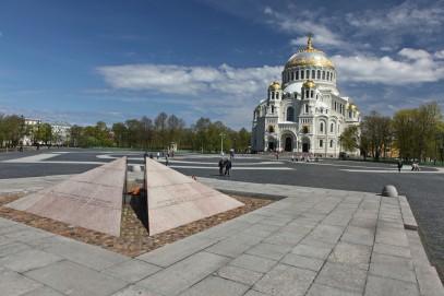 L'île de Kotline et la Forteresse de Kronstadt