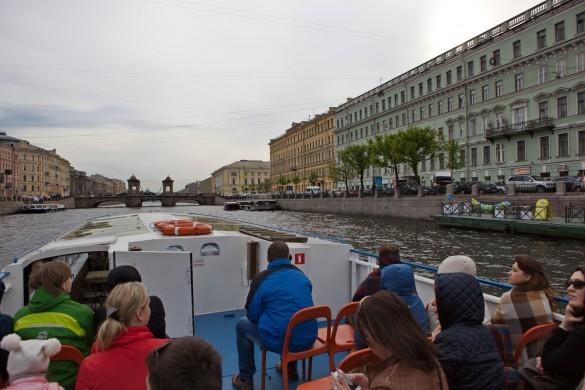 Excursion en bateau St Petersbourg