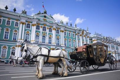 Ermitage et Palais Youssoupov en hiver
