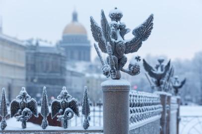 Week-end à Saint-Pétersbourg en hiver