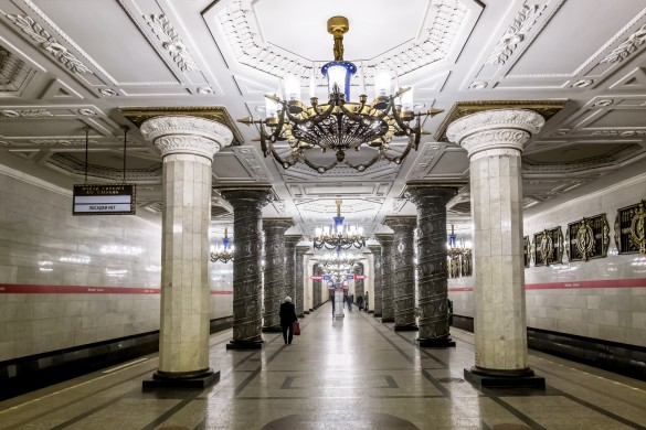 Métro à Saint-Pétersbourg