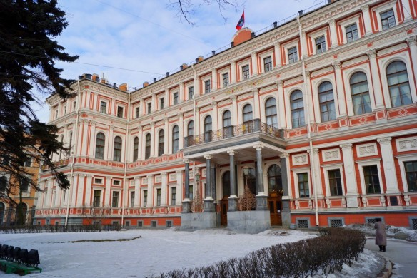 Palais Nicolas Saint-Pétersbourg